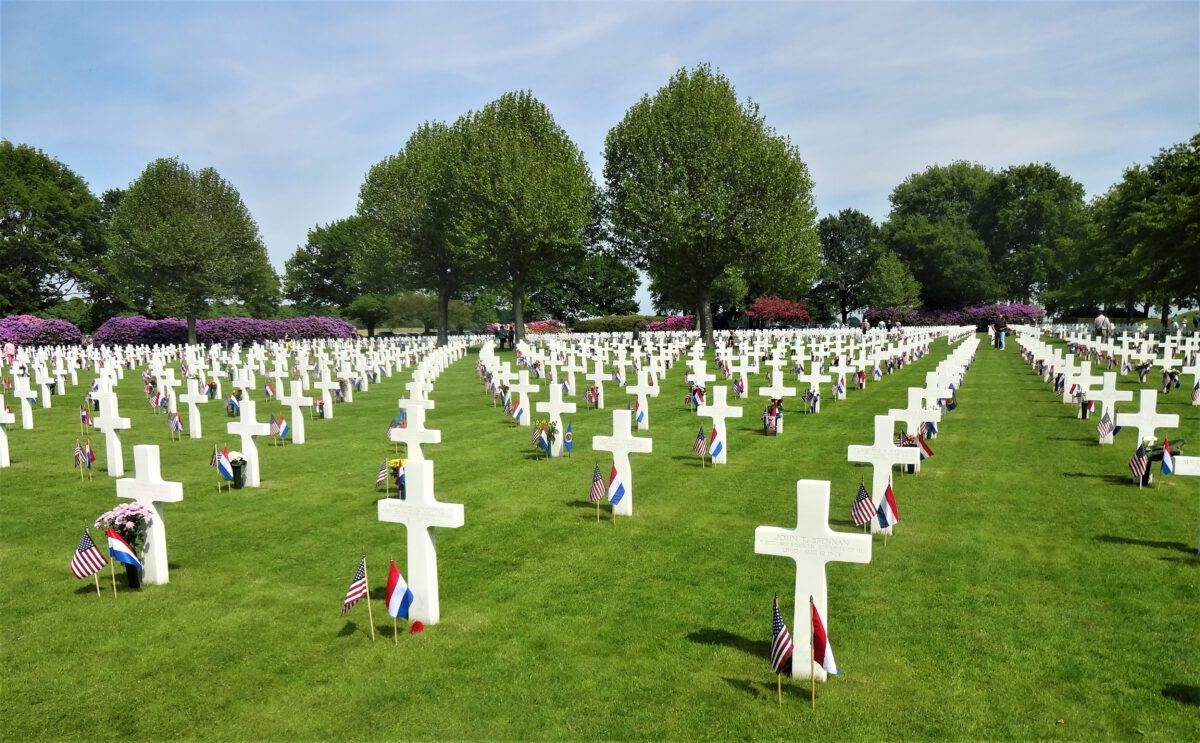 The-American-cemetery-in-the-Netherlands