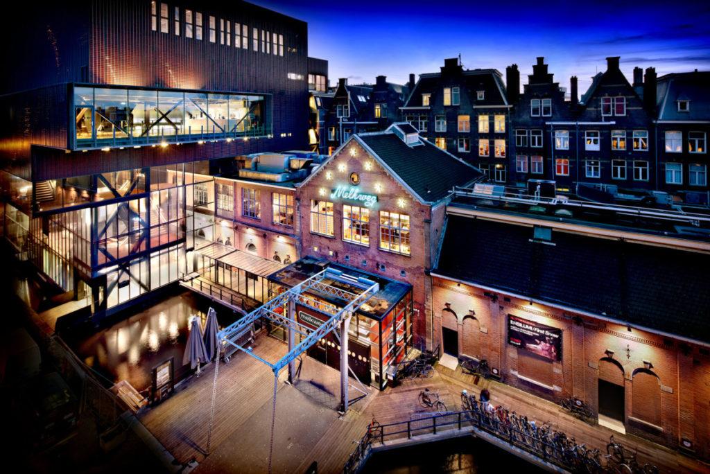 clubbing in Amsterdam