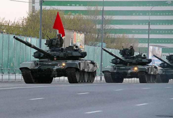 The Russian cliche's. They are coming!