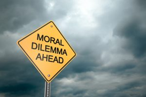 Moral Dilema Ahead