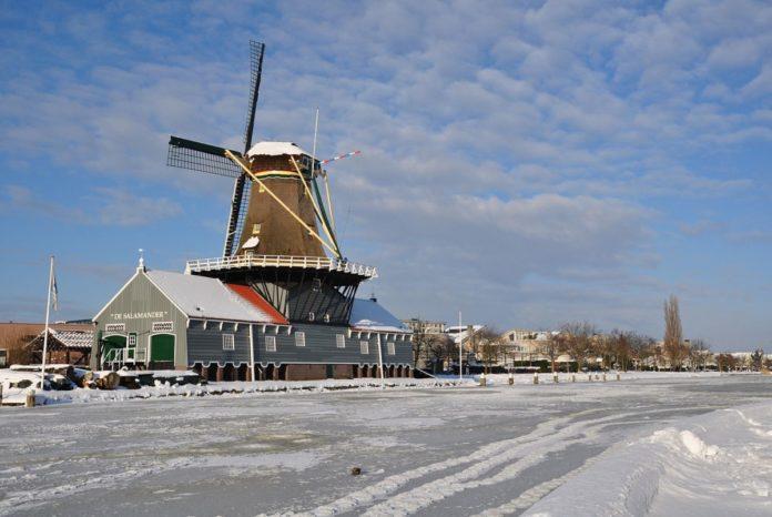 snowfall netherlands