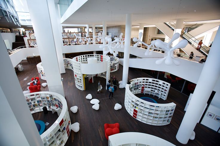Kids floor Amsterdam central library
