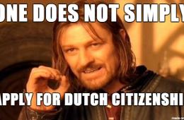 Dutch citizenship meme