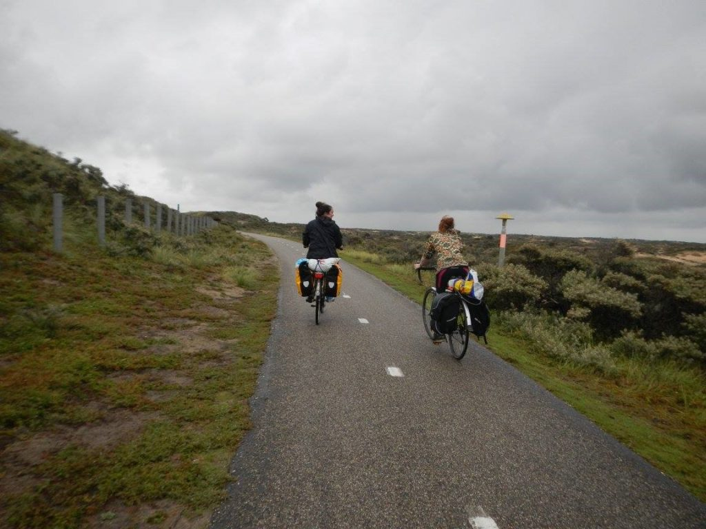 long-distance cycle trip in the Netherlands