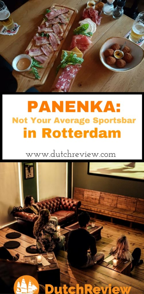Panenka is not your usual sports bar in Rotterdam!