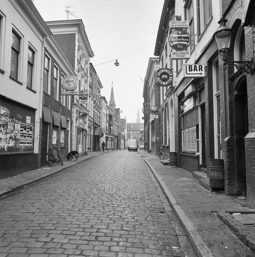 The Peperstraat in the old days