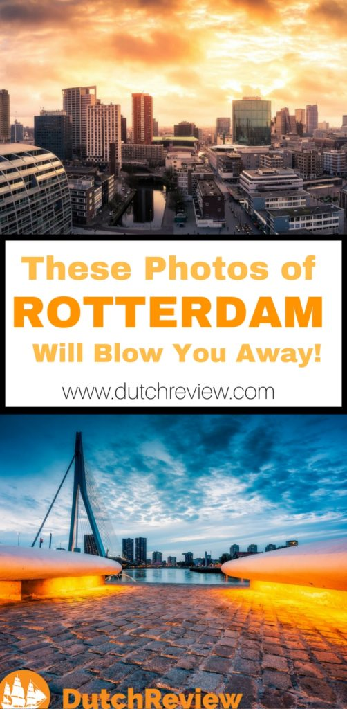 Gorgeous photos of Rotterdam sunsets for your viewing pleasure!