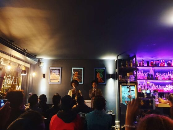 Poetry night at Labyrinth Poetry and Cocktail Bar Amsterdam