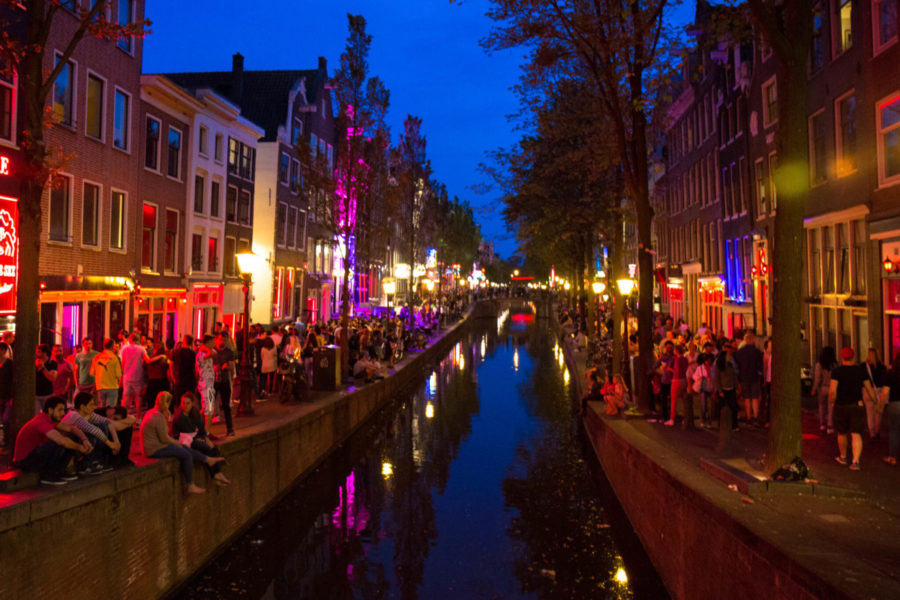 Prostitution in the Netherlands - Amsterdam Red Light District