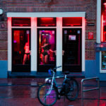Prostitution in the Netherlands – Amsterdam Red Light District windows