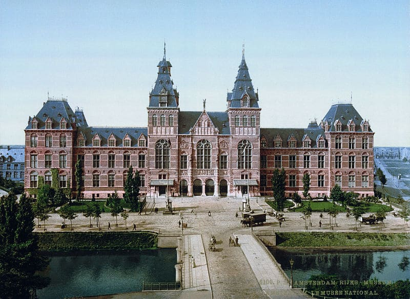 The Rijkmuseum, one of the most famous museums in the Netherlands
