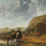 Rivierlandschap_met_ruiters_Rijksmuseum_SK-A-4118