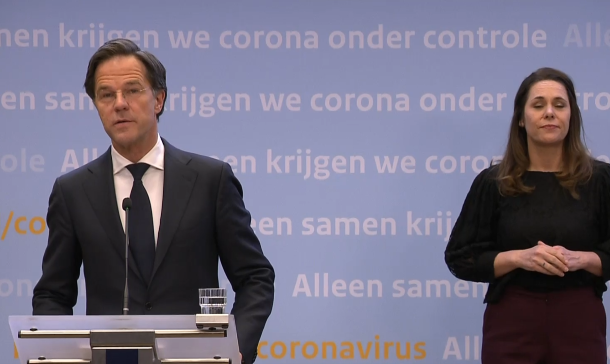 Press conference: curfew remains but terraces might open for Easter – DutchReview