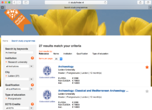Study in the Netherlands, Find a dutch university!