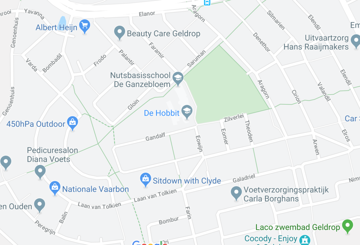dutch town with lord of the rings names