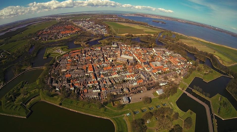 Villages in the Netherlands, Visiting Naarden