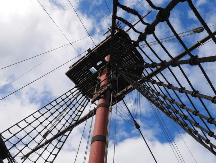 what was the VOC? a ship mast