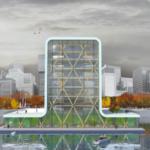 rotterdam floating tower