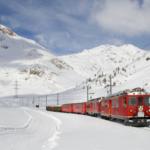 train snow