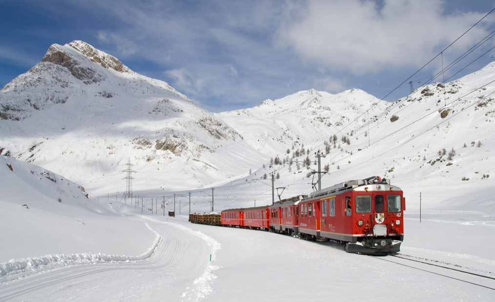 winter escapes by train from the netherlands
