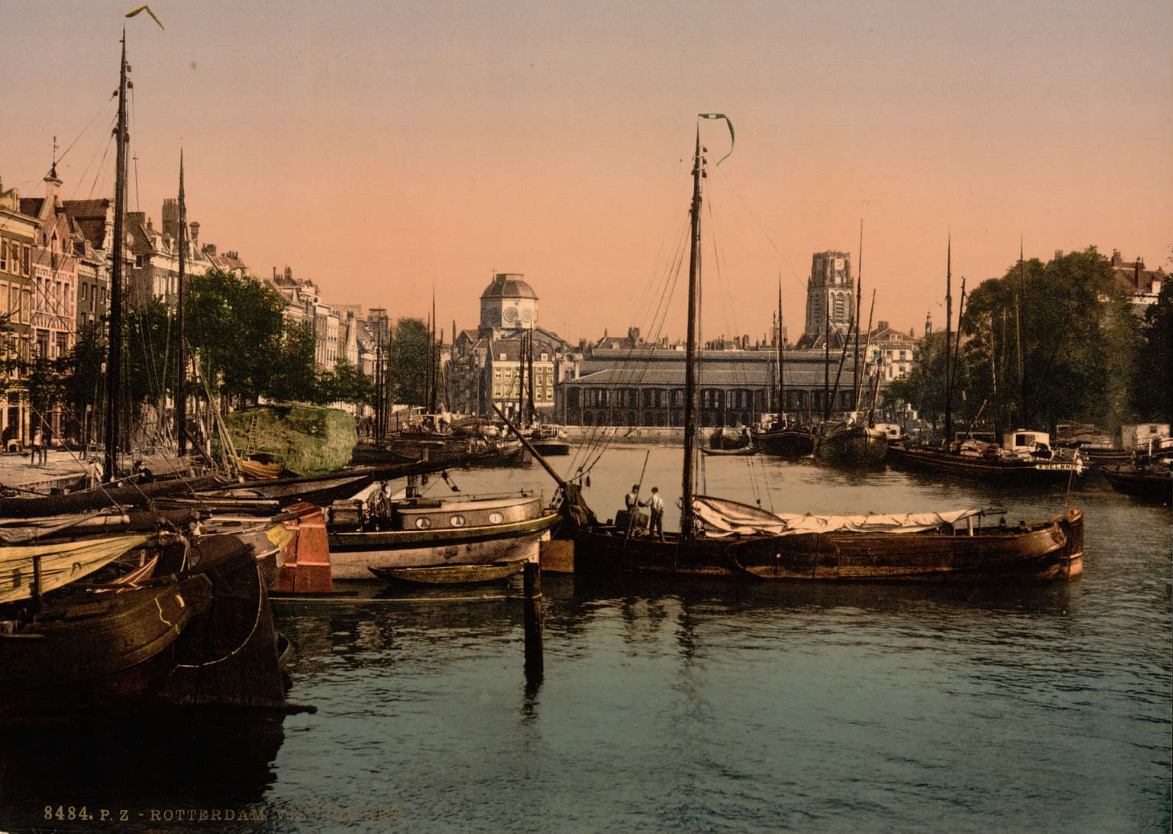 Stunning colourised footage of Rotterdam before WWII (video inside!) – DutchReview