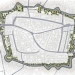 Singelpark map Leiden