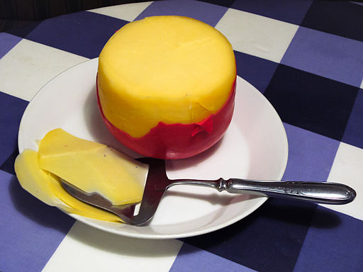 dutch people eat cheese sliced with cheese slicers