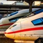 Speed Train Transport System Vehicle Ice Travel