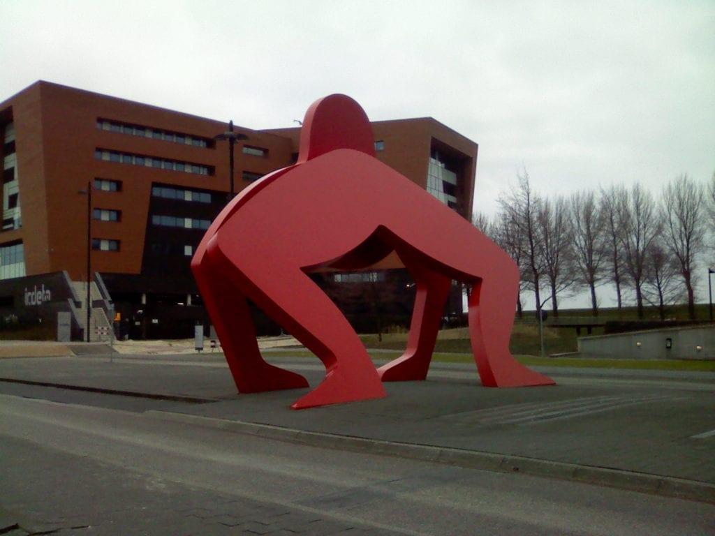 weird statues around the netherlands