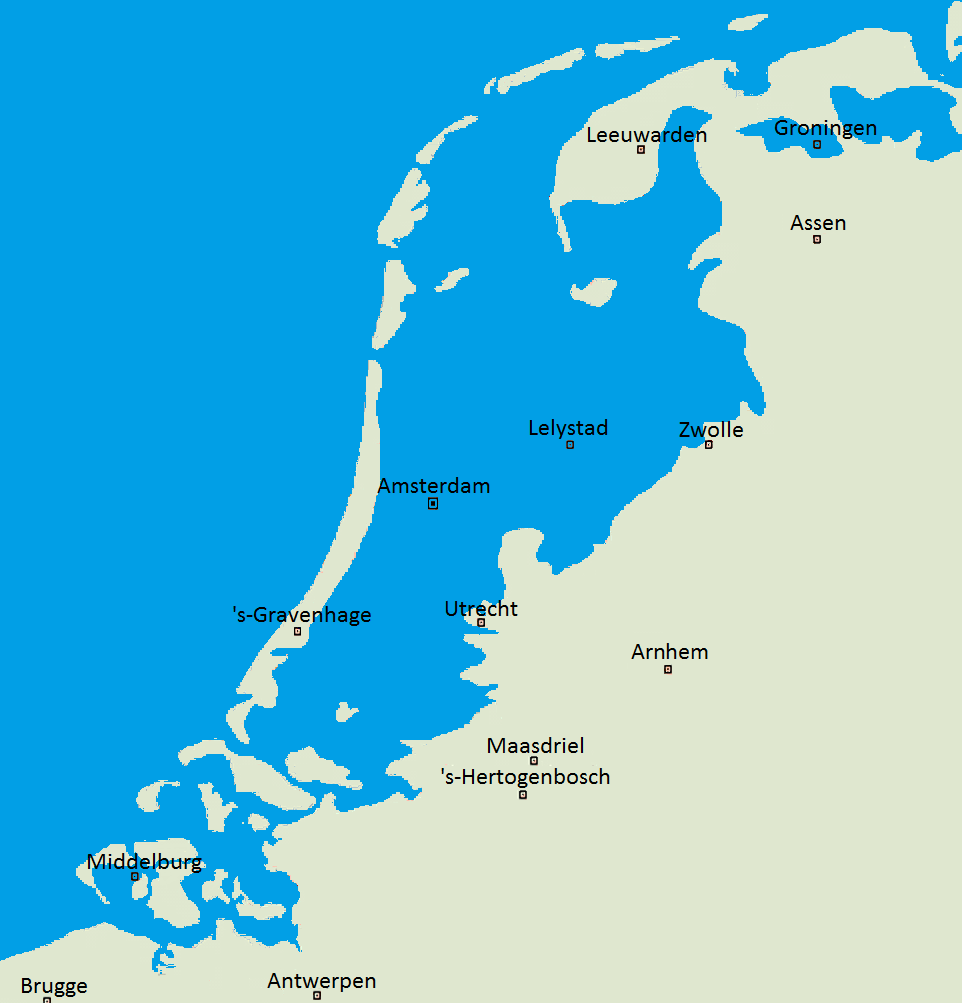 Facts-about-Netherlands-below-sea-level
