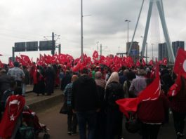 Turkish Vice-Premier is not welcome in the Netherlands