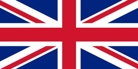 The UK flag compared to Amsterdam's flag.