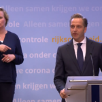 Health Minister De Jonge press conference