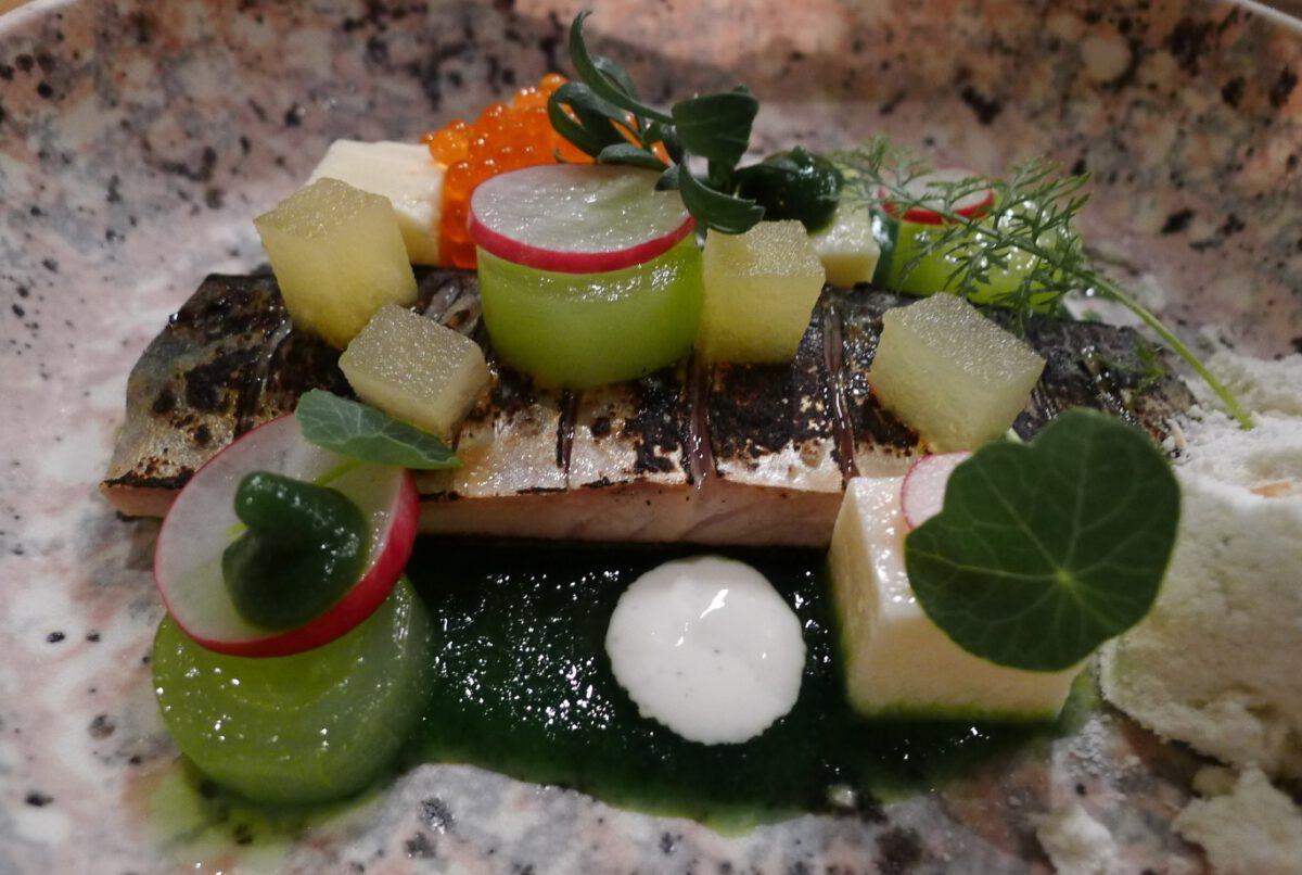 Fish-dish-at-Kluis-restuarant-Amsterdam