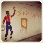 The original black nerd/Hipster and his love for cheese