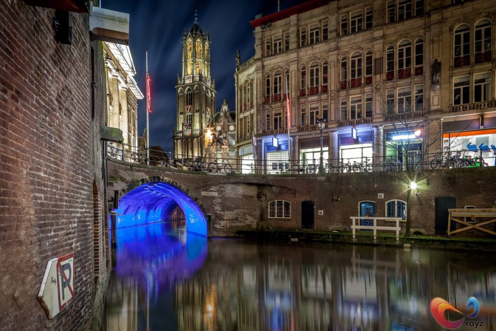 Utrecht has lights! Check out the lightfestival Trajectum Lumen for more!