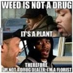Weed-is-not-a-drug—meme