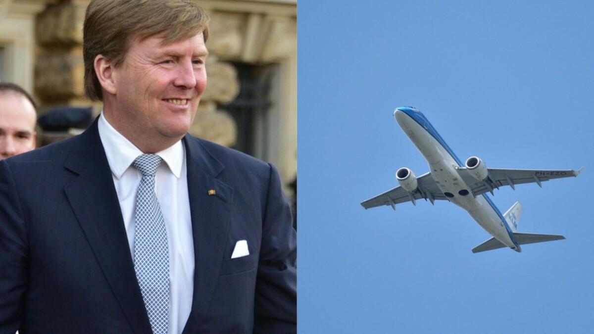willem alexander king pilot