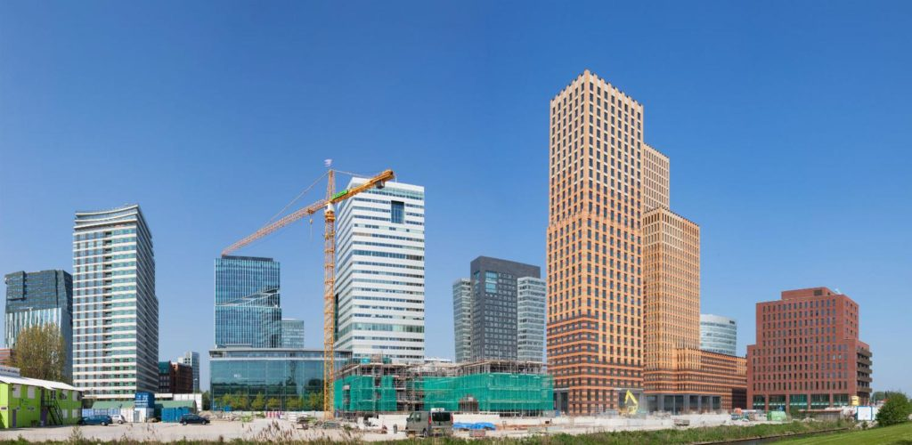 Amsterdam Zuidas, the financial district