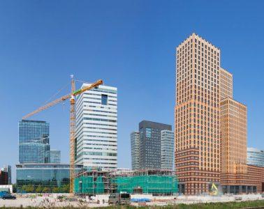 Amsterdam Zuidas, the financial district