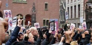 arson attack on kick out Zwarte Piet group