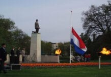 Remembrance Day in Zwolle