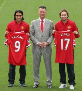 New additions to the EPL, Daley Bilnd and van Gaal source: pinterest.com