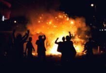 Photo-of-riots-and-bonfire