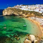 Algarve rock – coast in Portugal