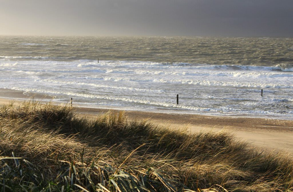 photo of waves for surfing at domburg , netherlands