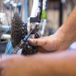 Repair of a bicycle