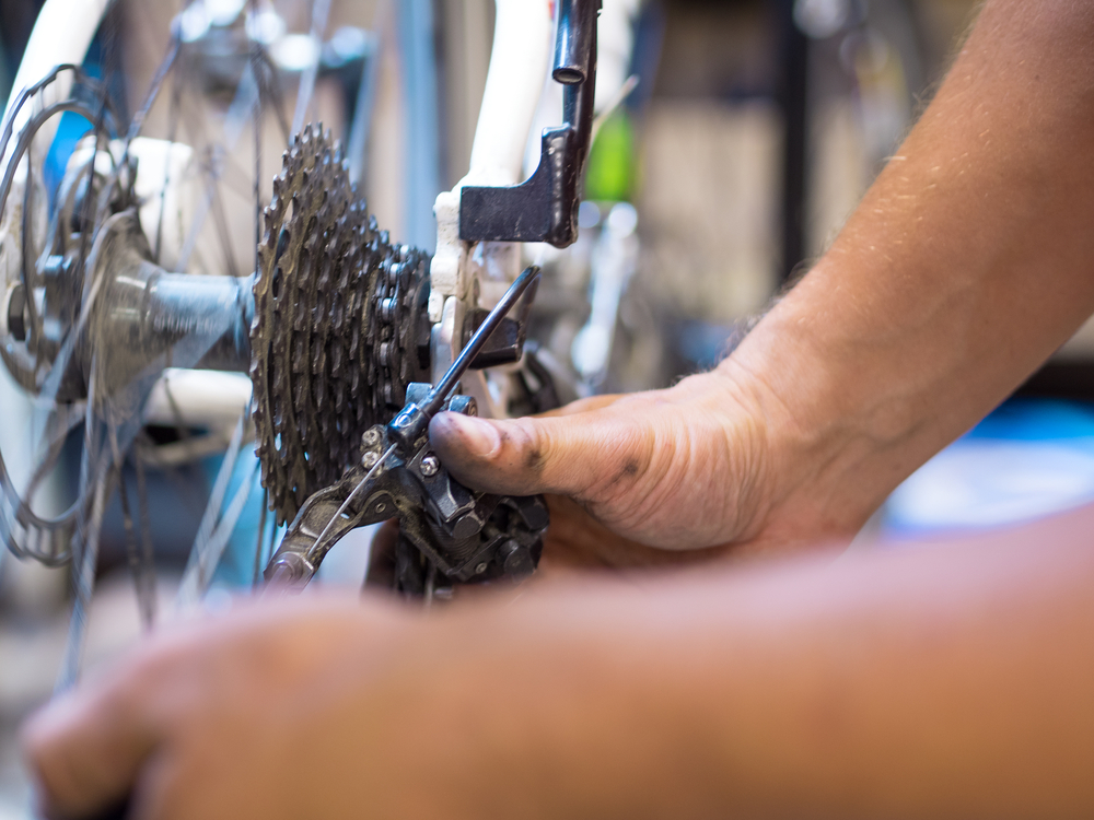 bike maintenance mechanic