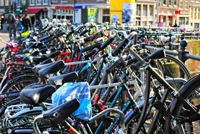 bike at a station
