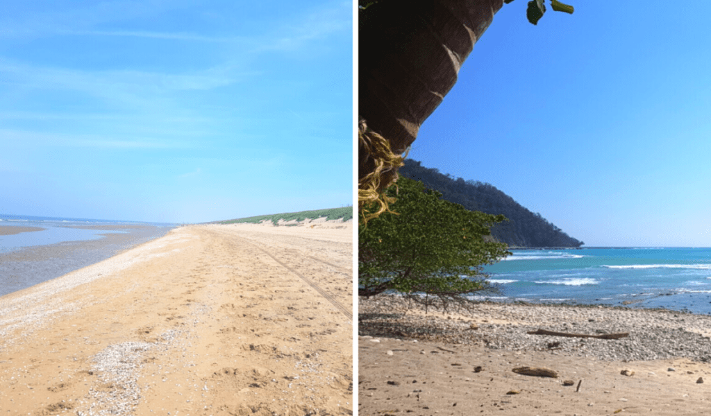costa rice and the netherlands beaches